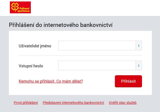 Internetové bankovnictví České spořitelny
