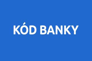 Jaký je Váš kód banky, IBAN, SWIFT a BIC?