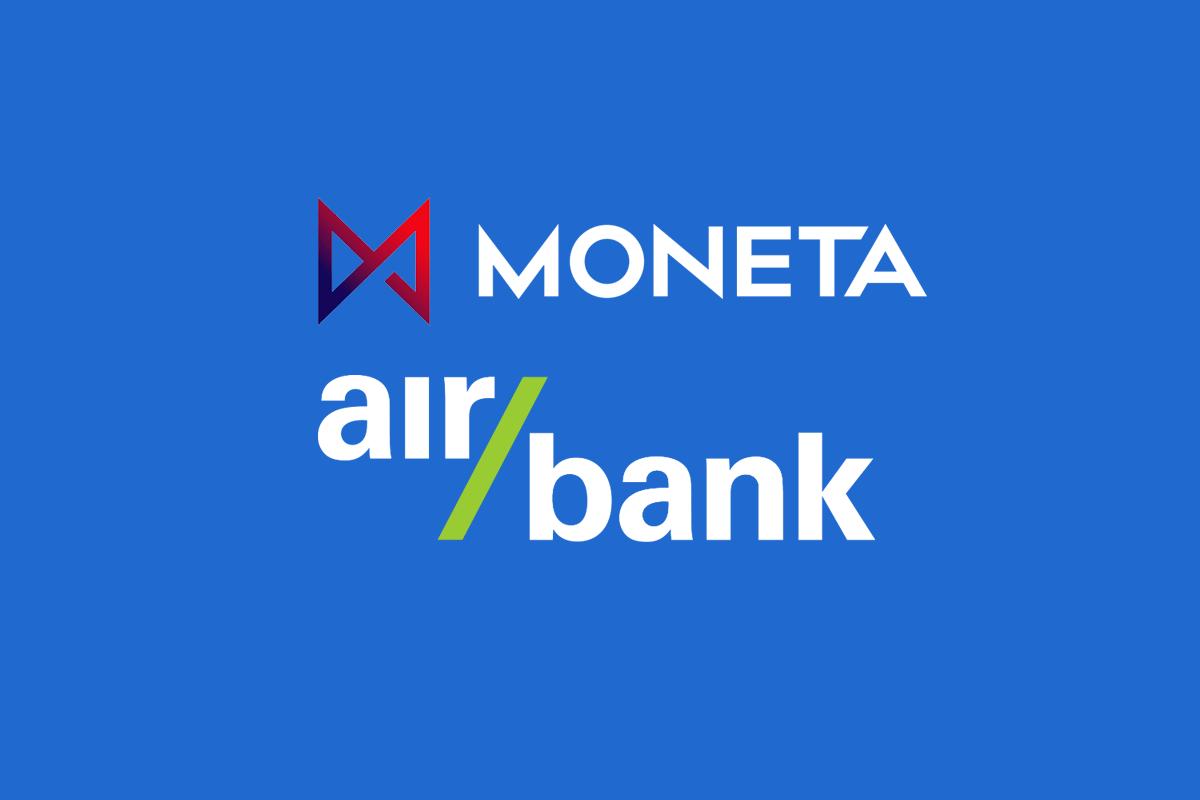 moneta a airbank spojení, air bank